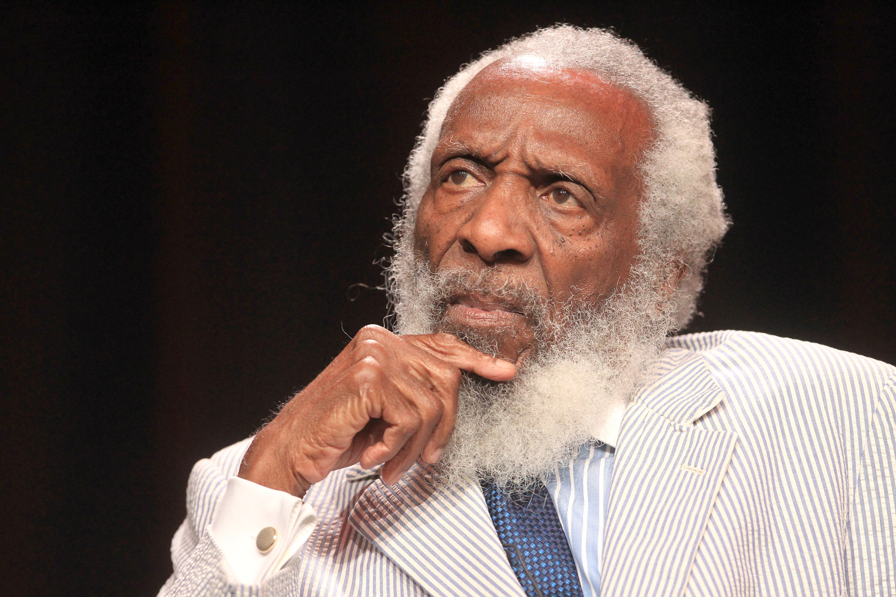 You Kill where You Live, Dick Gregory
