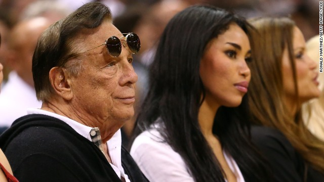 Donald Sterling and V Stiviano