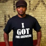 sway i got the answers t shirt ( you ain't got the answers sway! - kanye west)