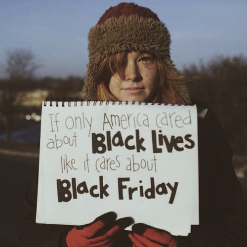 If America Cared about Black Lives as much as Black Friday