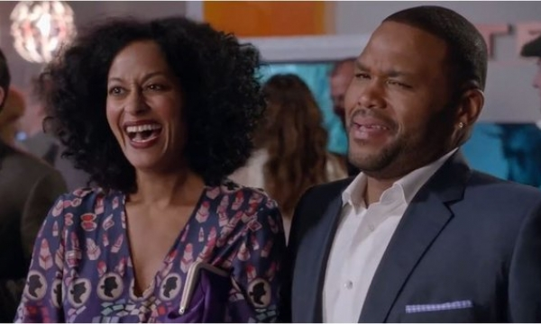 """Bow"" and ""Dre"" from Blackish"