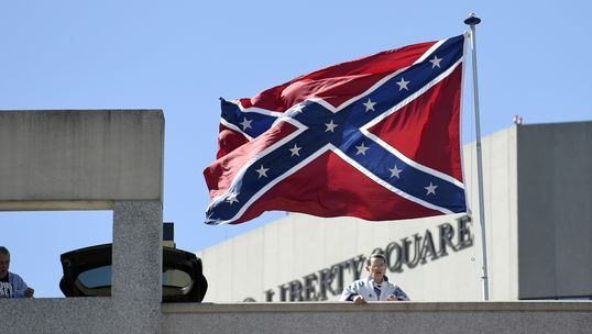 confederate flag, white supremacists