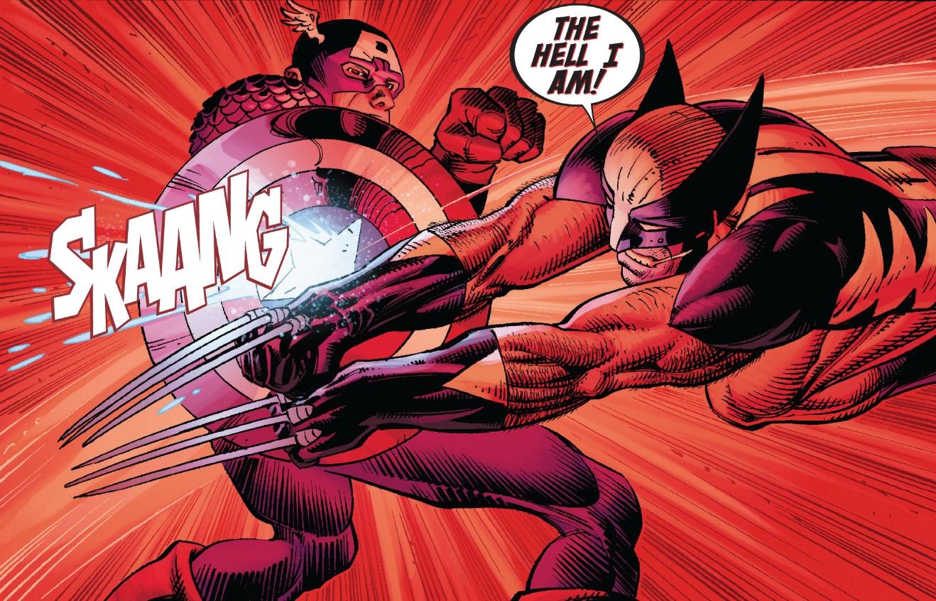 Captain America vs Wolverine: Vibranium vs Adamantium