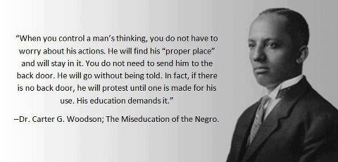 Carter G. Woodson, Miseducation