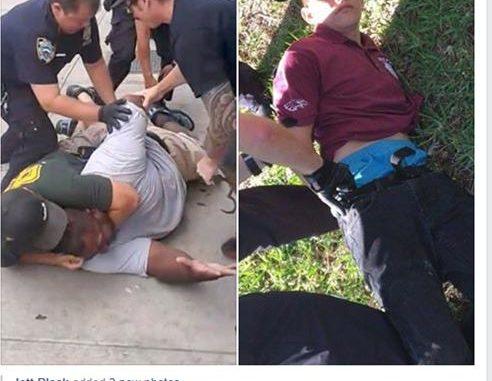 policing blacks vs policing whites