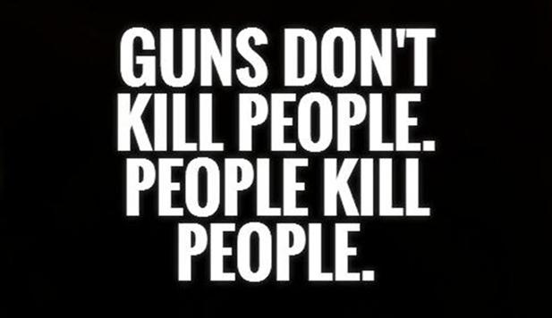 guns and people