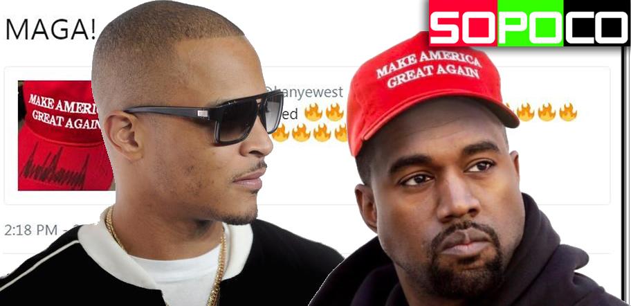 Tip Makes Media rounds on Kanye West