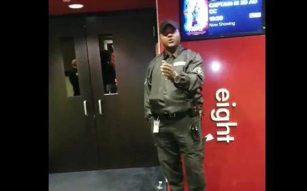 black man racially profiled