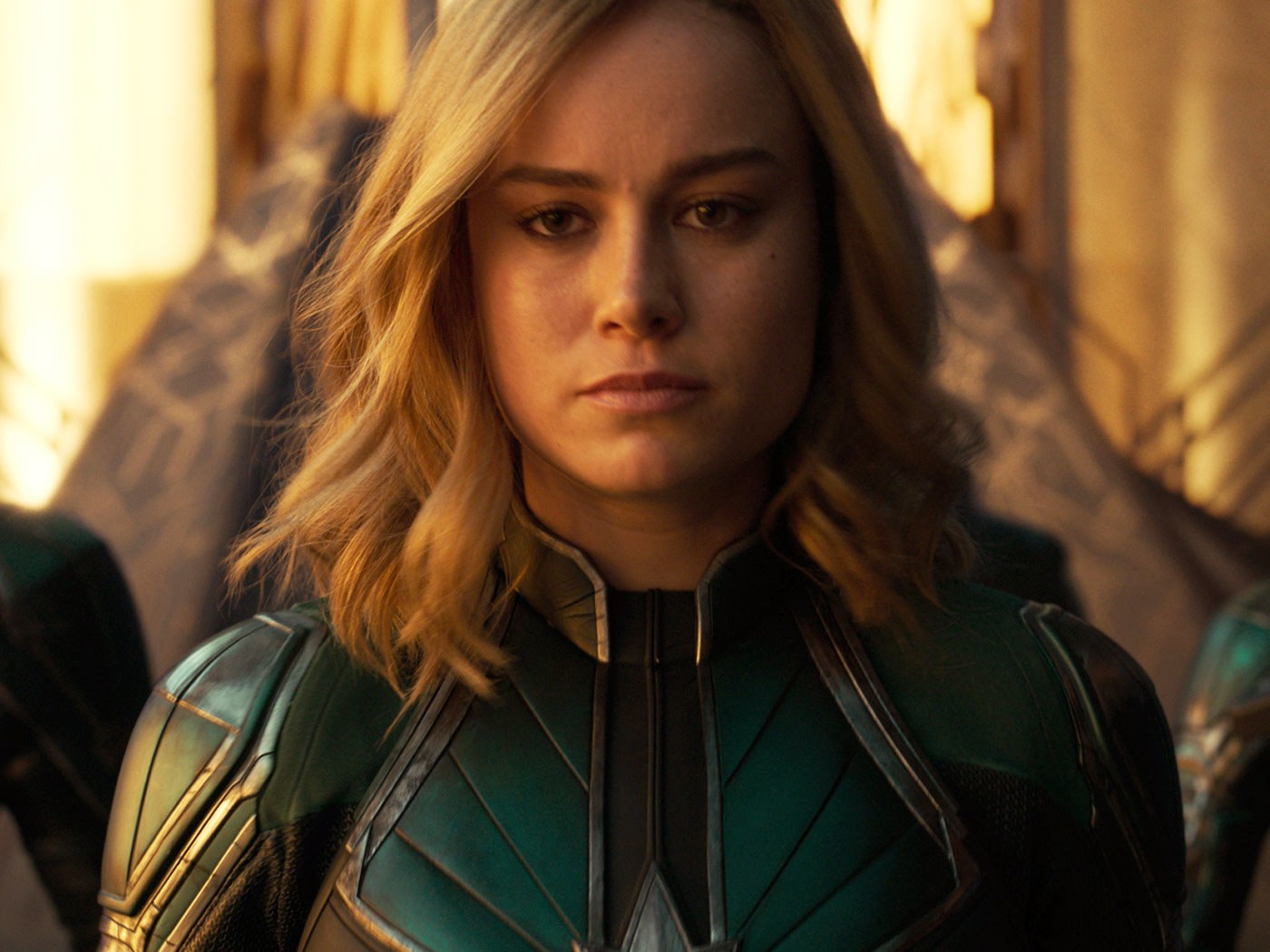Brie Larson looks like Virginia Garner