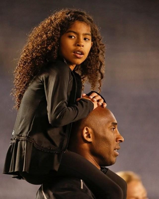 Kobe Bryant and Gigi Bryant