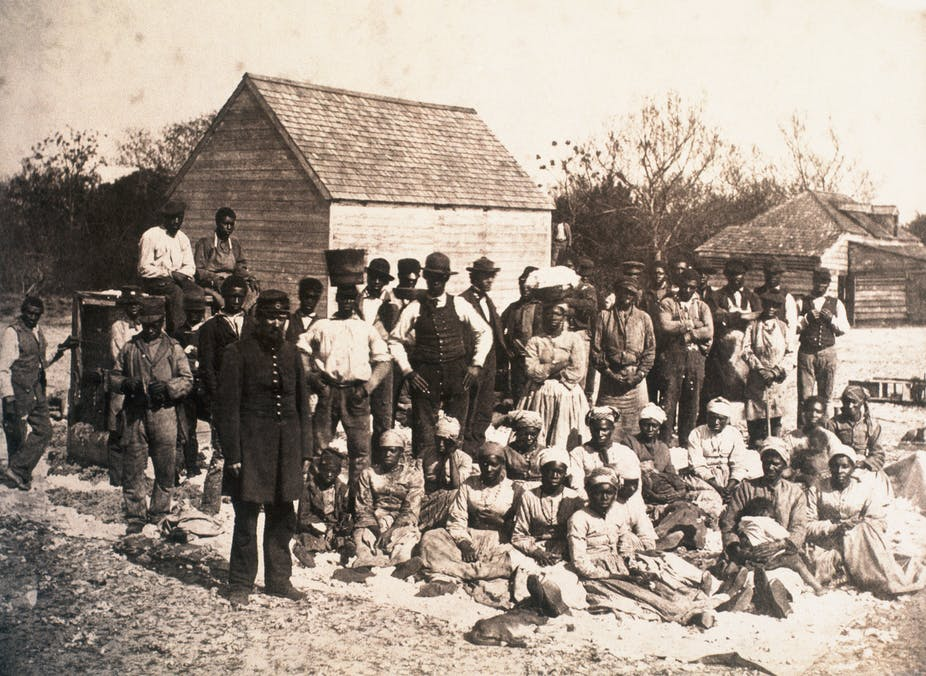 whites owned slaves and passed down hate to descendants