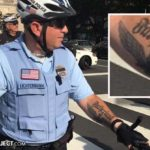white supremacist police officer in Philly