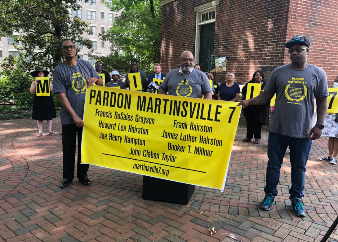 Justice for Martinsville Seven 50 years too late